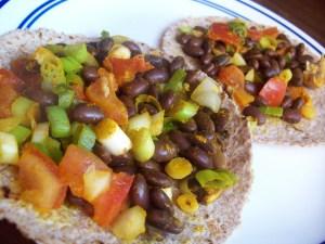 mmm bean burritos