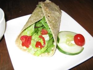 Sun-Dried Tomato Humus Wrap