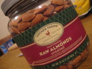 Raw Almonds!