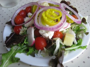 salad numero uno