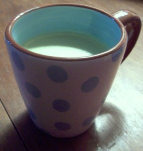 i love this cute mug (: