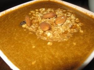 bog bowl of orange