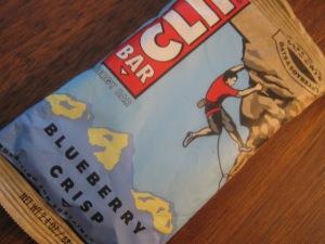 Blueberry Crisp Cliff Bar