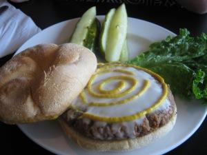 Mom's Vegan Burger