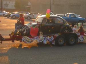 sixties parade float