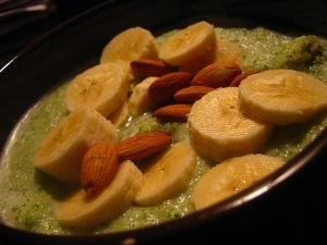 big ol bowl of green