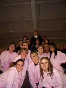 Pink Ladies and the T-Birds